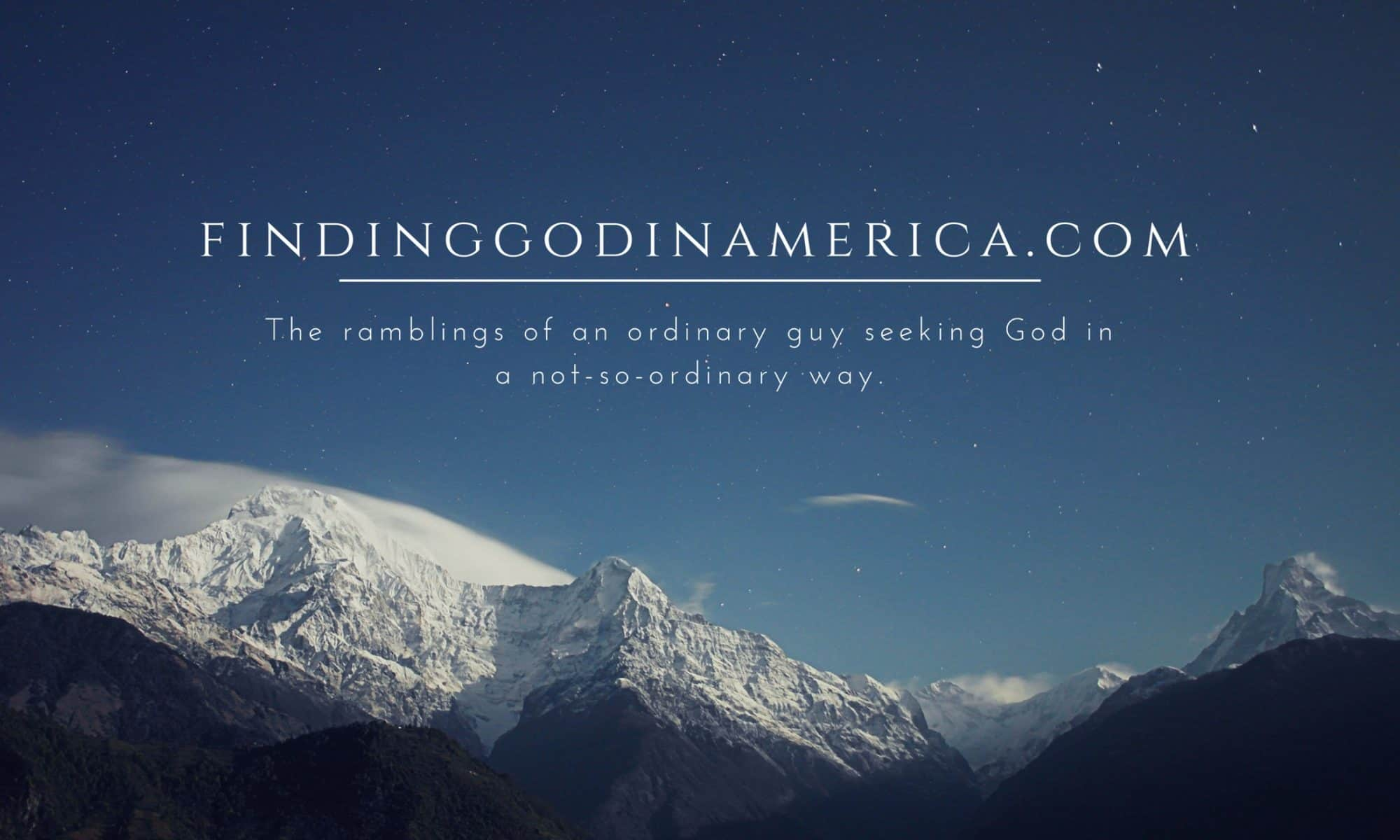 Finding God in America